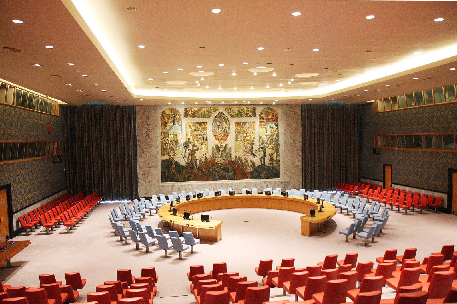 A Look Inside The United Nations Restored Security