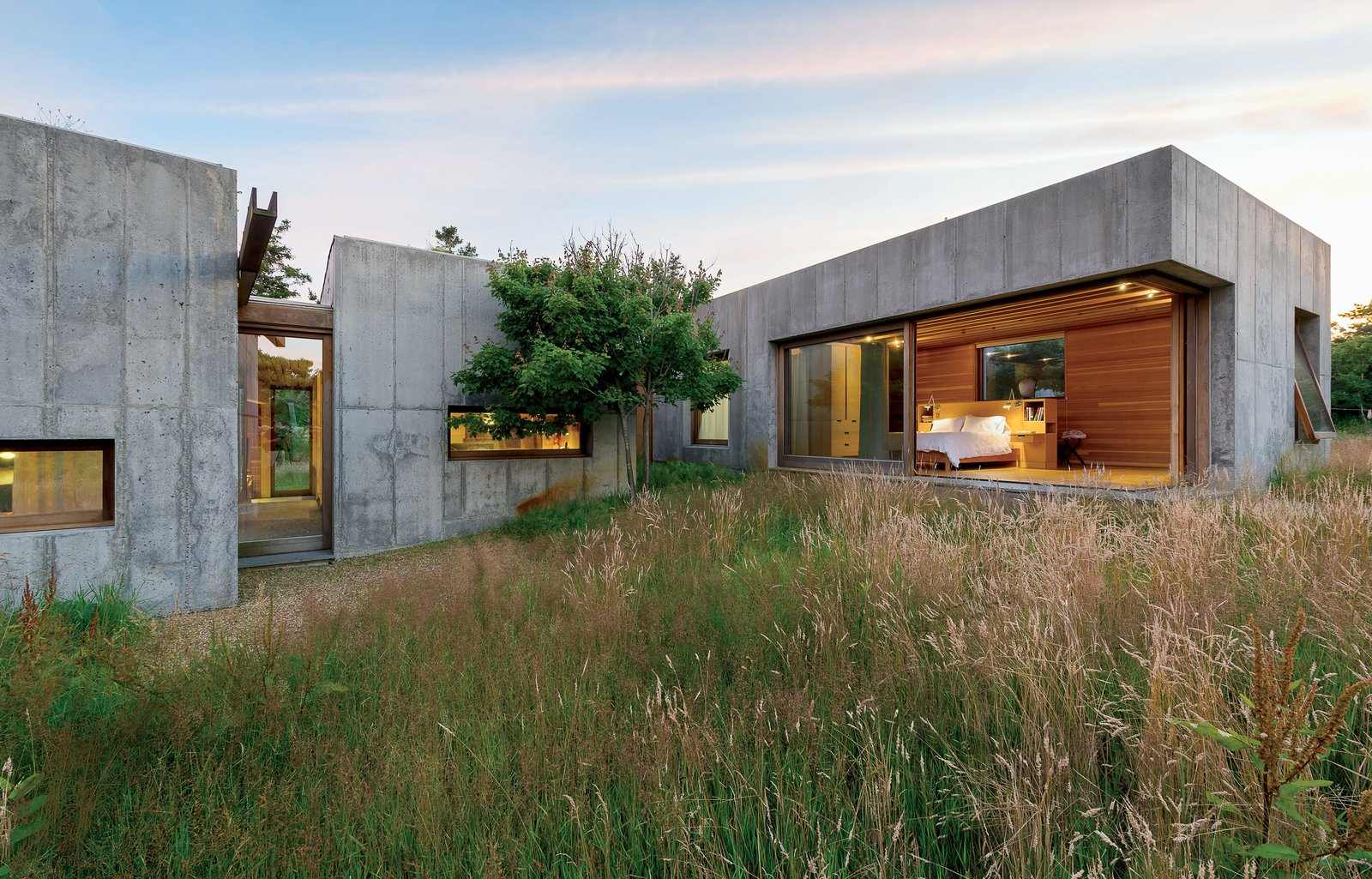Best Kitchen Gallery: Six Concrete Boxes Make A Jaw Dropping Martha's Vineyard Home Dwell of Underground Concrete Home Cost on rachelxblog.com