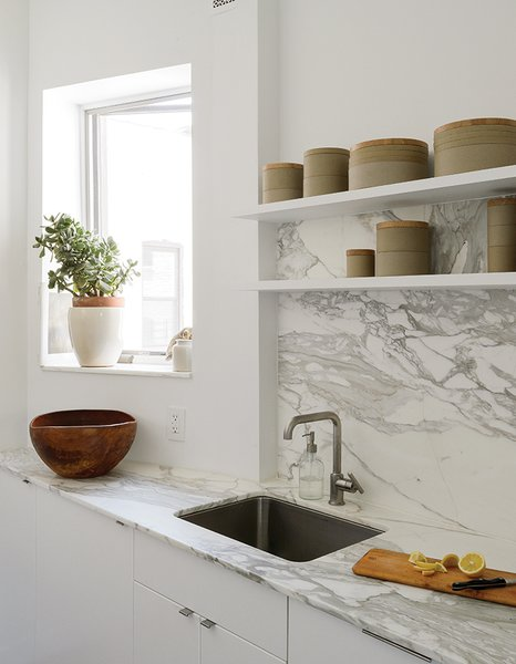 modern kitchen marble counters design