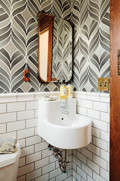 photo 1 of 22 in 22 powder rooms that