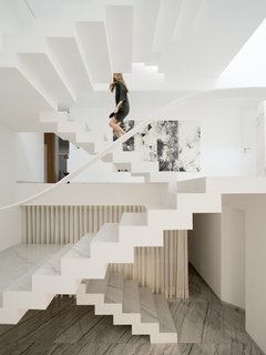 Best 60 Modern Staircase Design Photos And Ideas Page 3 Dwell | House Steps Design Outside | Renovation | Fancy | Second Floor | Interior | Patio