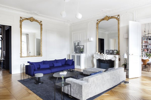A Parisian Abode Is Reborn With a Fresh, Unexpected Color ...