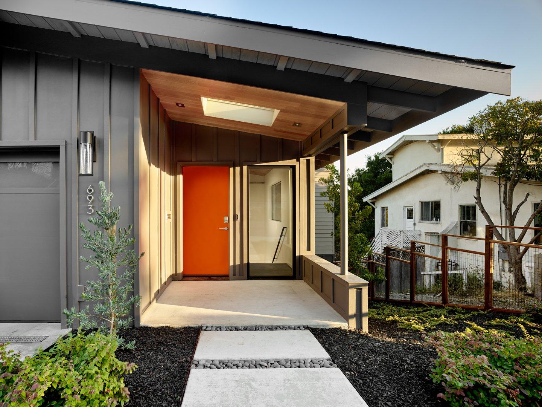 Trestle Glen Modern Modern Home in Oakland, California by ... on Modern Siding  id=46939