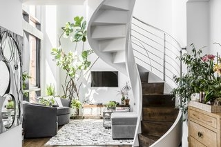 35 Swoon Worthy Staircases That Are A Step Above The Rest Dwell | Interior Staircase Design In Main Hall For Duplex House | Residential Stair | Middle Class Village Indian House | View | 16X16 Hall | Beautiful