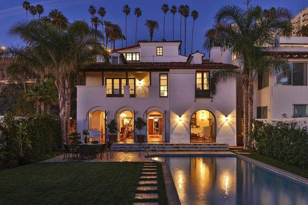 A Santa Monica Beach House Built For Norma Talmadge Modern