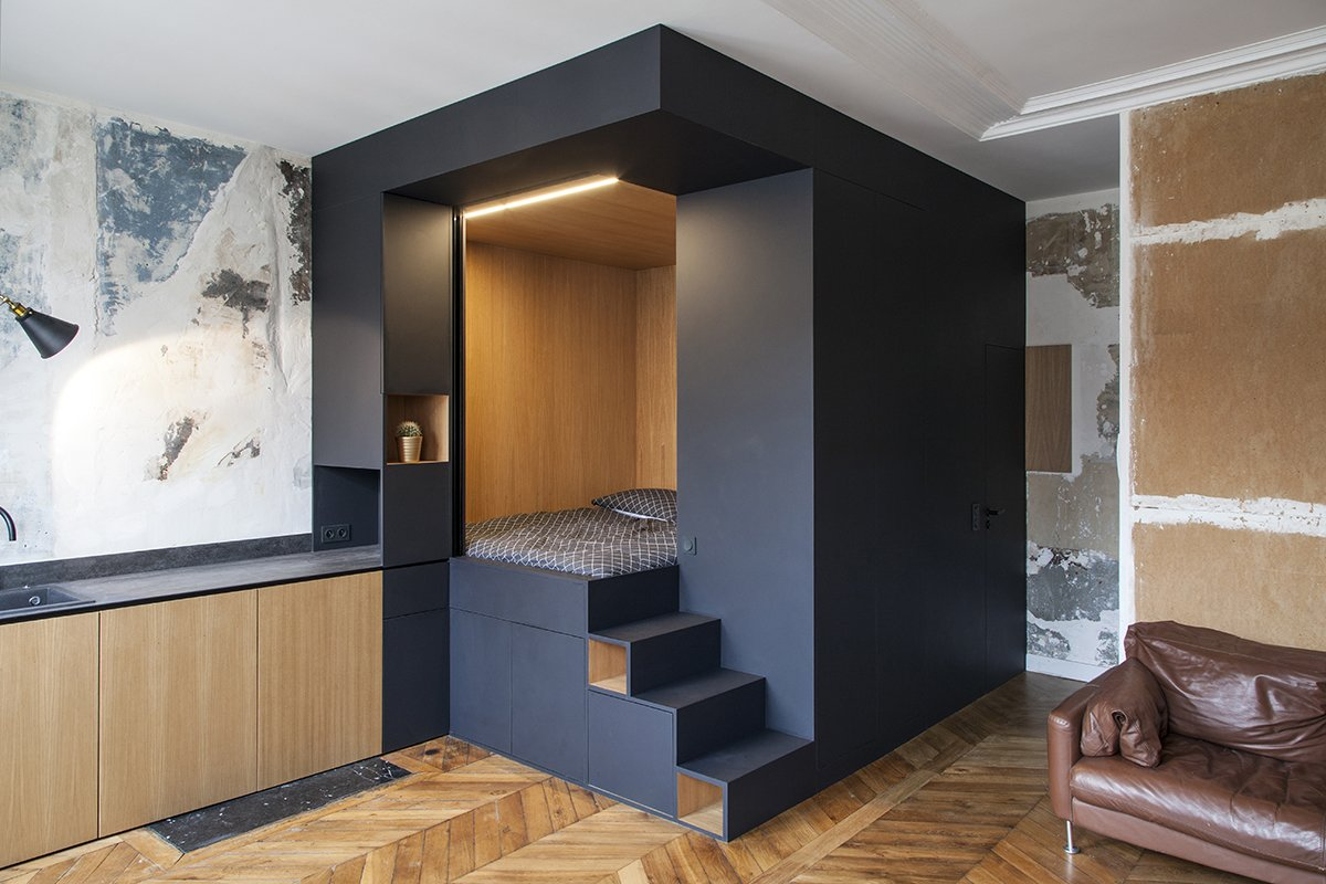 10 Bedroom Box And Storage Wall Design Ideas Dwell