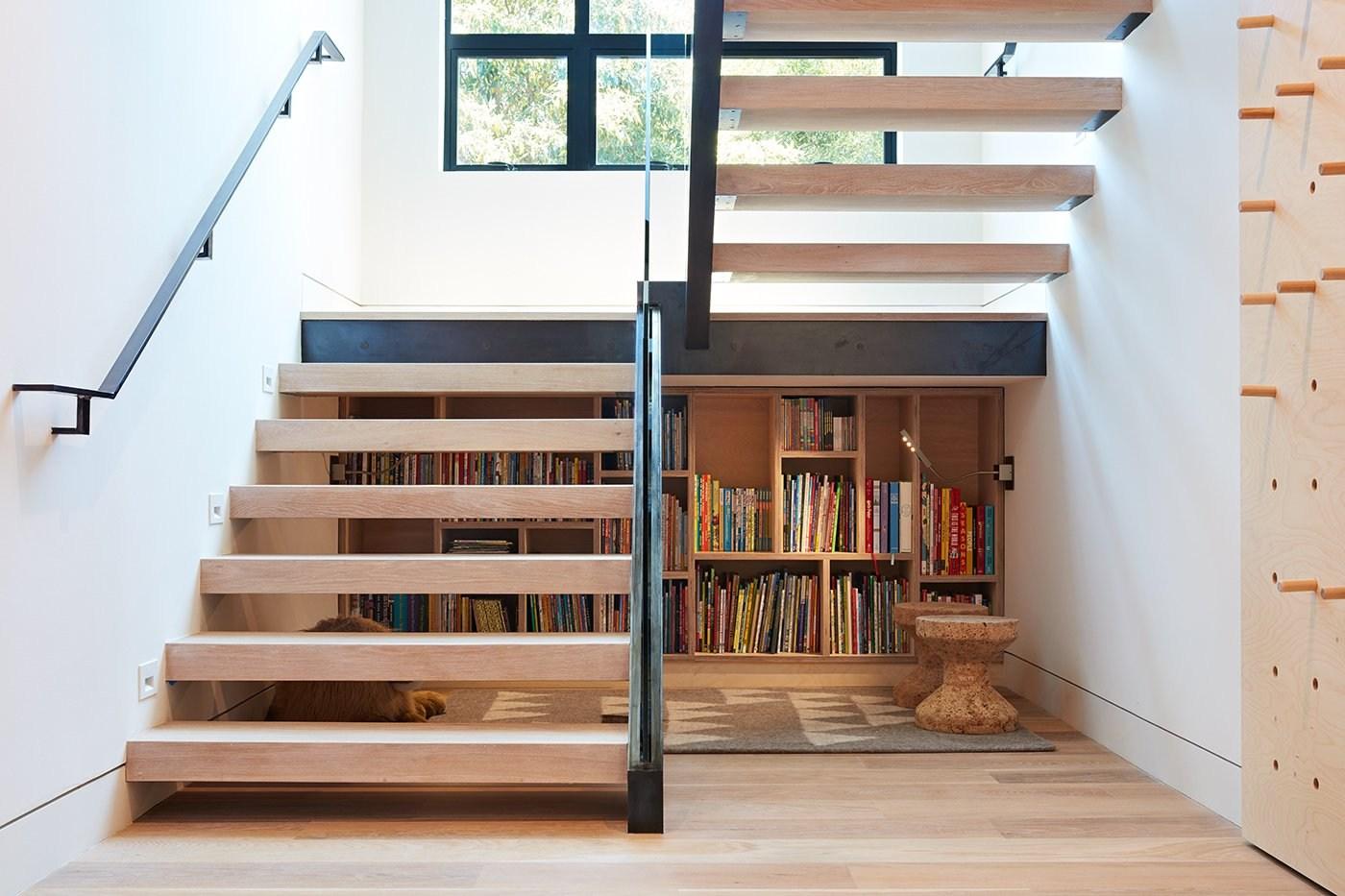 10 Smart And Surprising Under Stair Design Solutions Dwell   Interior Design Under Staircase   Ideas   Cupboard   Indoor Garden   Spiral Staircase   Shelves