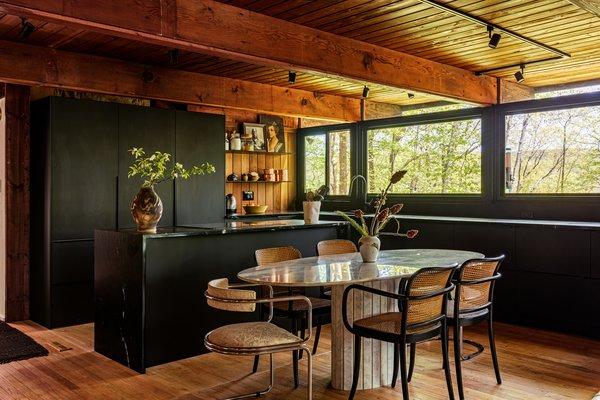 dining room light hardwood floors track