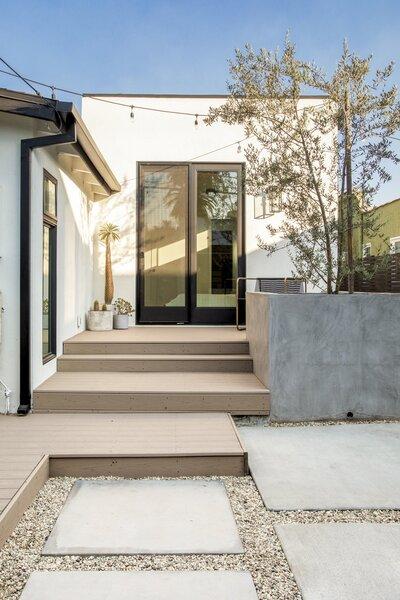 yard decomposed granite patio porch