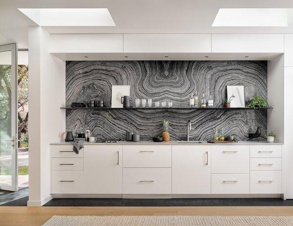 modern kitchen recessed lighting design
