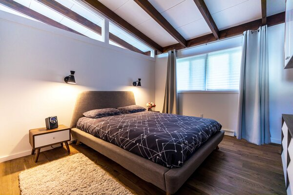 modern bedroom accent lighting design