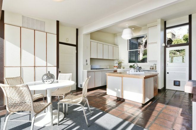 These 30 White Kitchens Are Anything But Ordinary - Photo 27 of 30 - This kitchen was renovated in the late 1970s and has been beautifully maintained since.