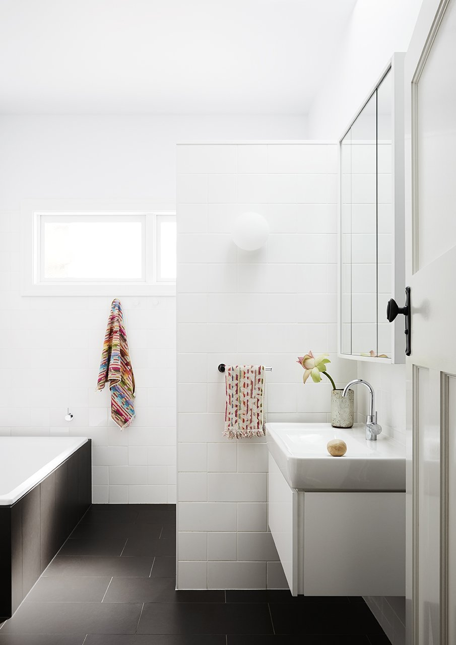 photo 10 of 30 in bath porcelain tile