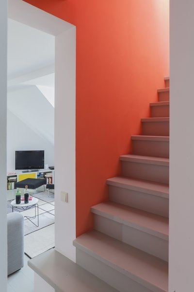 Best 60 Modern Staircase Design Photos And Ideas Dwell | House Steps Design Inside | Gallery | Front | In House Construction | Stair Decoration | Grill