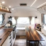 Peanut Airstream Land Yacht Renovation By Sitka Concept Dwell