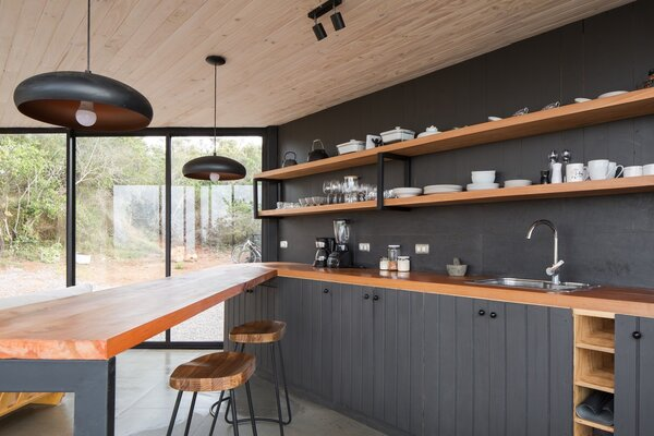 modern kitchen track lighting design