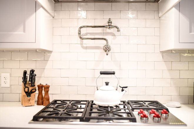 25 Backsplash Ideas For Your Kitchen Renovation - Photo 7 of 25 - Backsplash from Porcelain and More