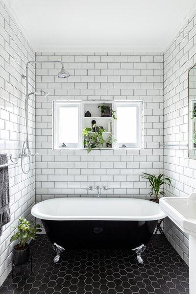 best 41 modern bathroom subway tile