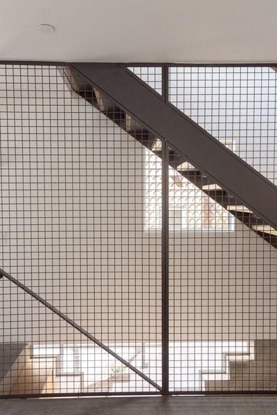 Best 60 Modern Staircase Metal Railing Design Photos And Ideas   Industrial Stair Railing Design   Structural Steel Modern   Detail Industrial   Horizontal   Custom Metal   Ancient