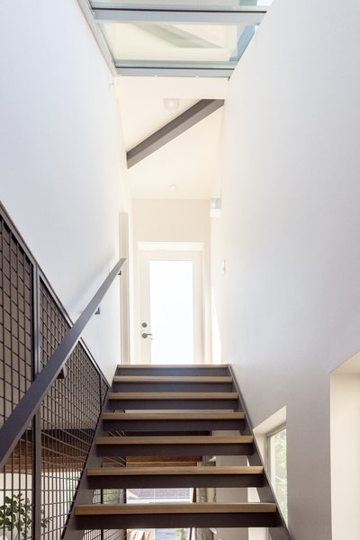 Best 60 Modern Staircase Metal Railing Design Photos And Ideas | Metal Staircases For Homes | Beam | Stainless Steel | Support | Statement | Metallic