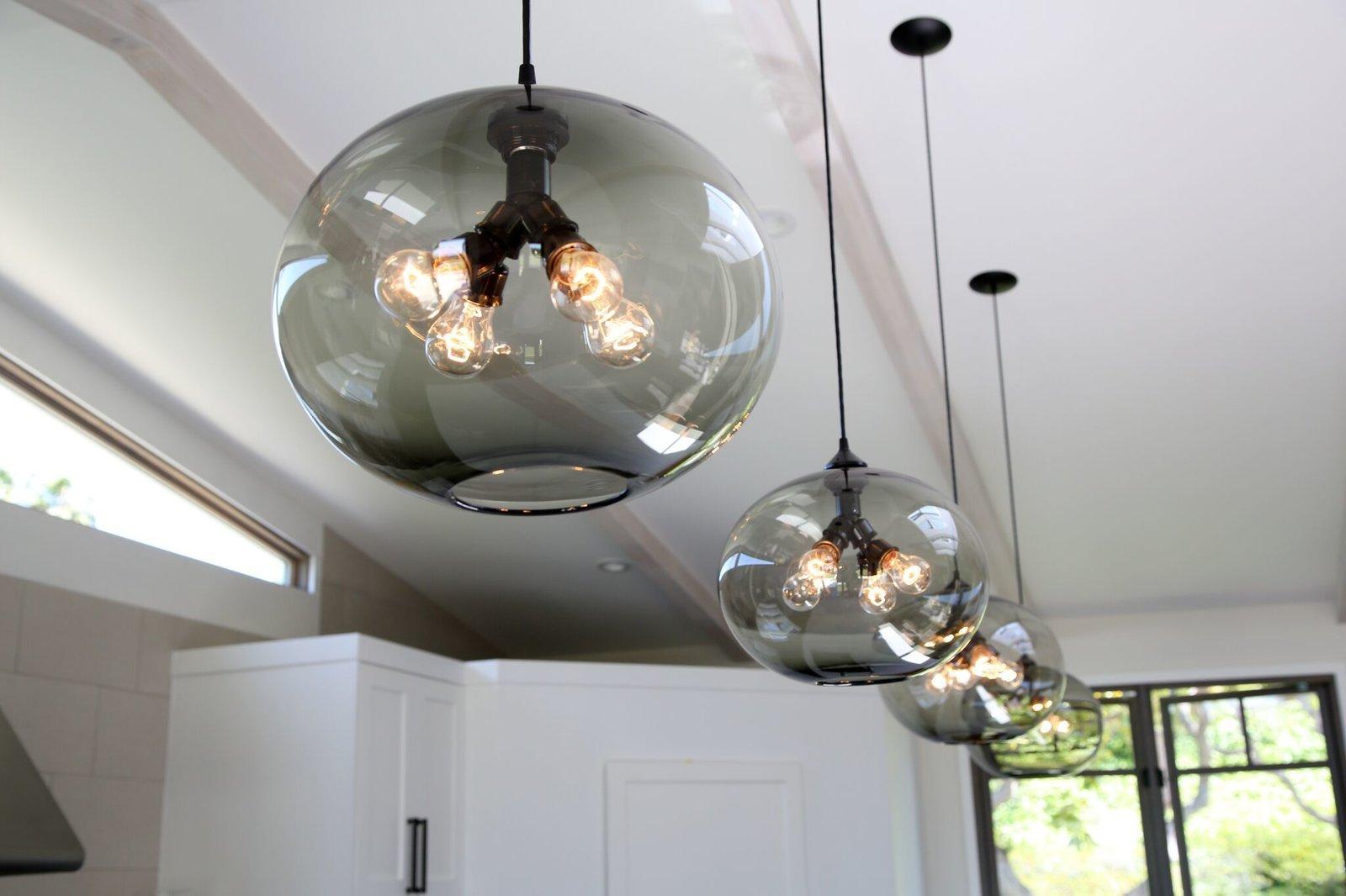 kitchen island modern lighting adds