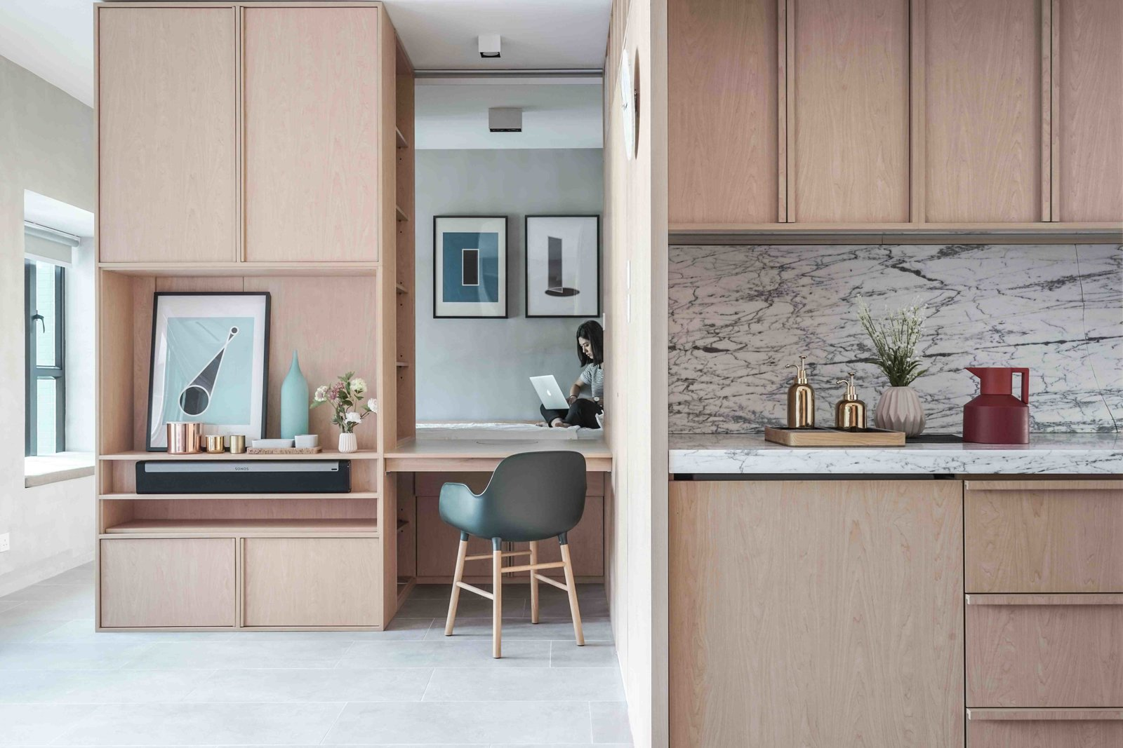 10 small apartments by a hong kong design studio that are less than