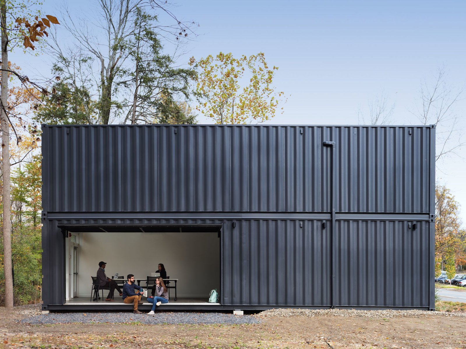 Best Kitchen Gallery: A Shipping Container Prefab Lab Is Built In Only 4 Hours Dwell of Lab Shipping Container on rachelxblog.com