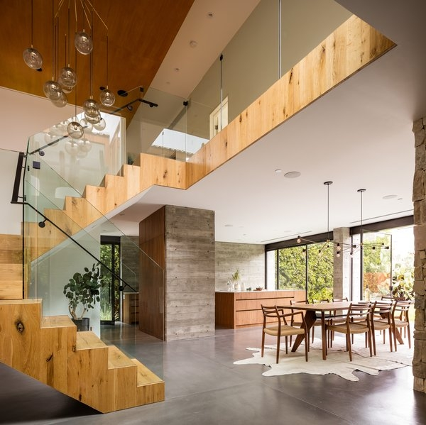 Best 60 Modern Staircase Glass Railing Design Photos And Ideas   Staircase Wood And Glass   Commercial Wood   New   Ash Wood   Simple Glass   Glass Bal