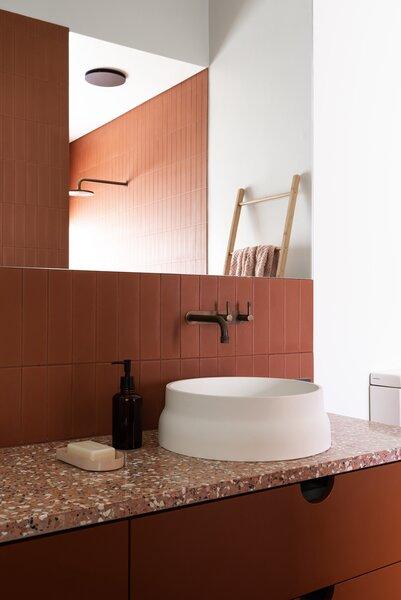 modern bathroom vessel sinks design