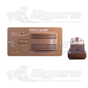 SafeTAlert Brown COLP Alarms with Valve Control Shut