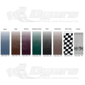 Replacement 14 To 21 Awning Fabric For Dometic A E And Carefree Awnings