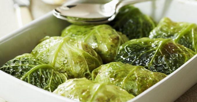 Stuffed Savoy Cabbage Leaves recipe | Eat Smarter USA