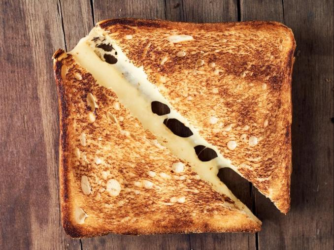 Grilled cheese sandwich Recipe and Nutrition - Eat This Much
