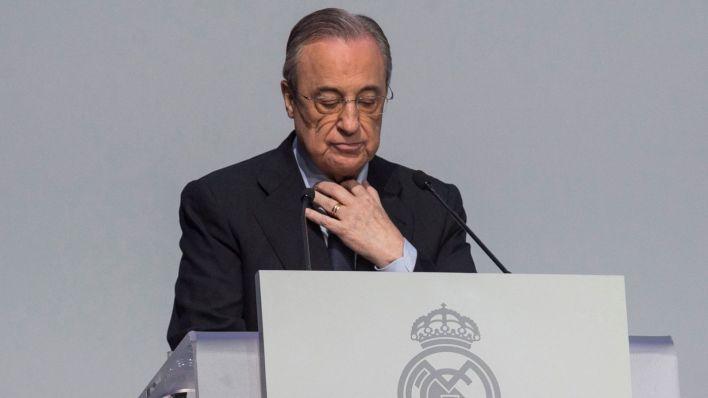 Florentino Pérez, presidente de la Superliga. (EFE)