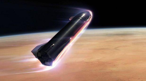 Foto: Musk tiene que sortear los obstáculos burocráticos si quiere seguir con su plan espacial. (SpaceX)