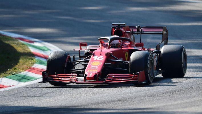 Leclerc llega como un tiro. (Reuters)