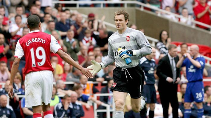 Lehmann, el portero del Arsenal. (EFE)