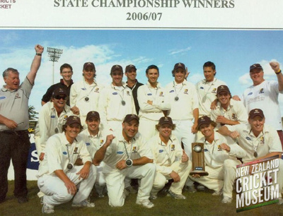 The team photo of the 2006-07 Northern Districts s...