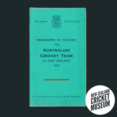 Programme of Matches for Australian cricket team i...