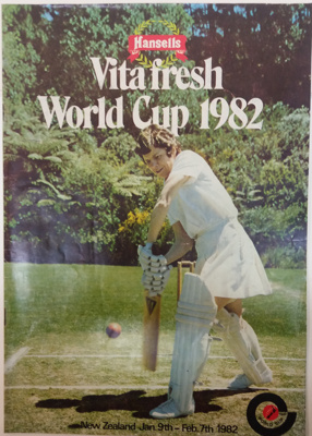 Programme: Women's World Cup 1982; C.1982 ; 2017.36.98