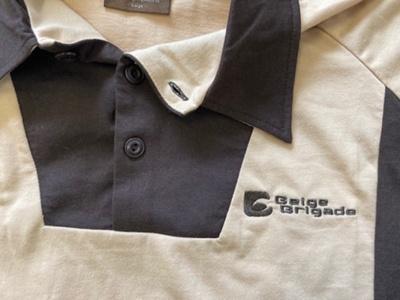 Shirt: Beige Brigade replica New Zealand ODI shirt; Beige Brigade; 2020; 2020.13.1