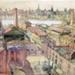 watercolour [Shot Tower Wharf]; Ratcliffe, William; 1914; 1979.41