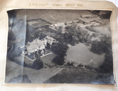 Aerial photograph of Kingshott School about 1930