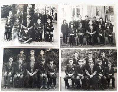 Photographs of Kingshott School Headmaster and Prefects