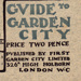 Guide to Garden City, booklet; Adams, Thomas; 1906; 14359/2