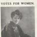 Votes for Women: Mary E. Gawthorpe, postcard; Werner, Gothard; 1911; 10154/306