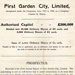 First Garden City Ltd Prospectus booklet; 1906; 14359/3