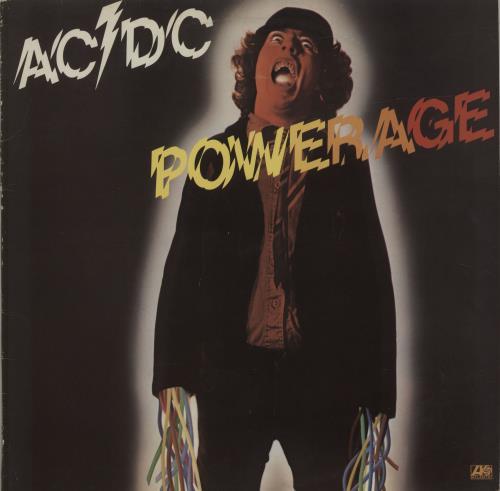 AC/DC Powerage - Cold hearted man vinyl LP album (LP record) UK ACDLPPO587263