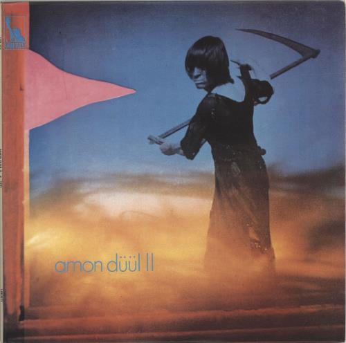 Amon Düül Yeti - 1st 2-LP vinyl record set (Double Album) UK AMO2LYE315940
