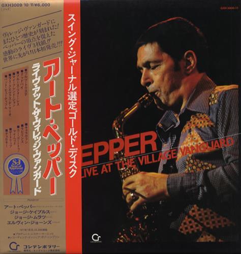 Art Pepper Live At The Village Vanguard 3-LP vinyl record set (Triple Album) Japanese A/P3LLI353639